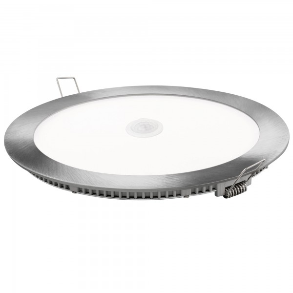 Downlight led redondo sensor pl.18w.n