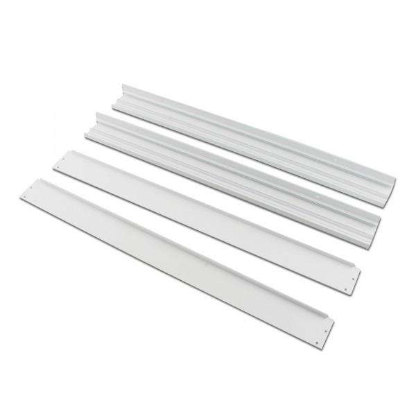 Marco aluminio panel led  30x60cm.
