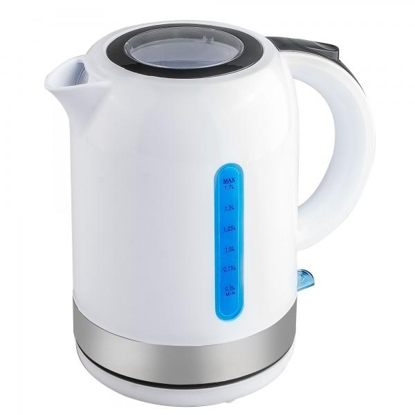 Hervidor agua kuken blanco 2200w 1.7l
