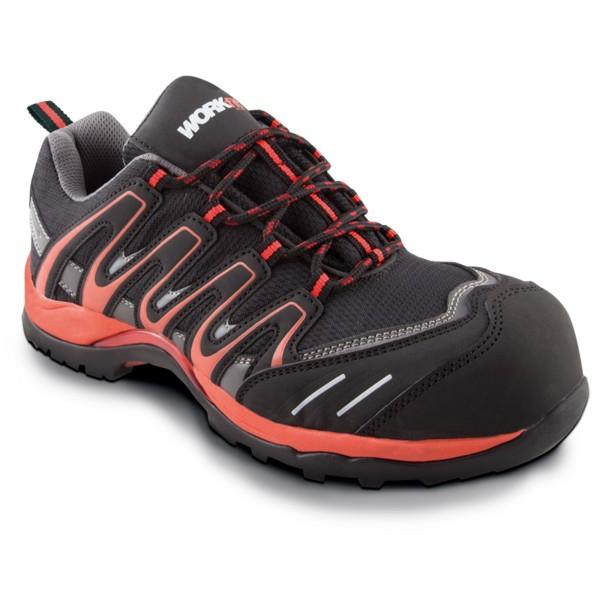 Zapato seg. workfit trail rojo n.41