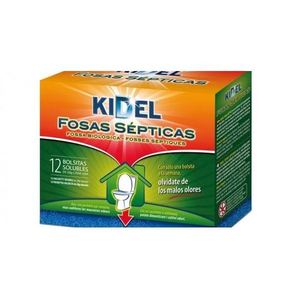 Kidel fosas sépticas 12 bolsitas