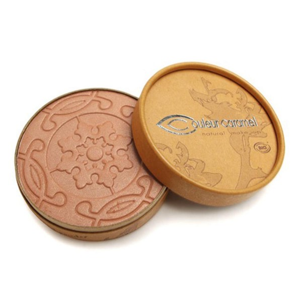 Couleur caramel terre mate compact bronzer pearly golden