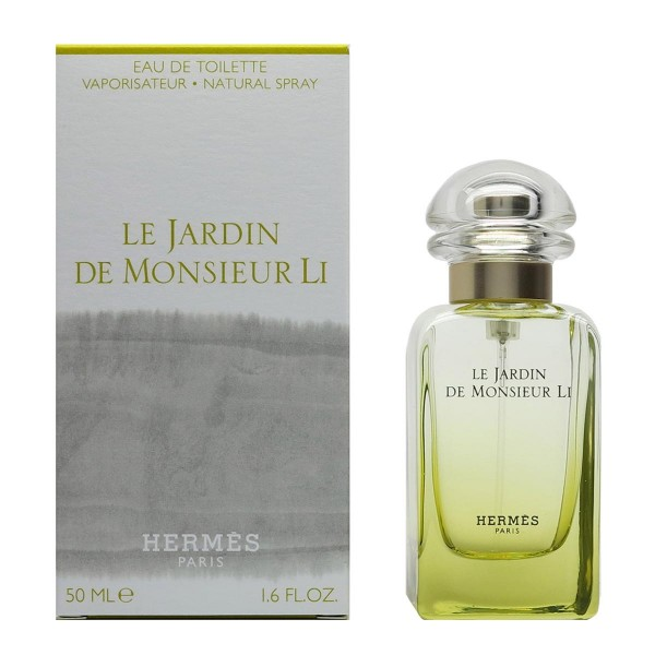 Hermes paris le jardin de monsieur li eau de toilette 50ml vaporizador