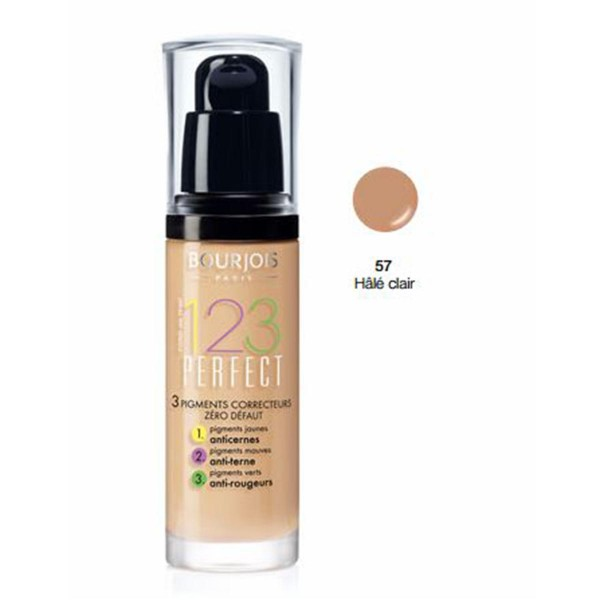 Bourjois 123 perfect foundation correcting pigments 57 halecla