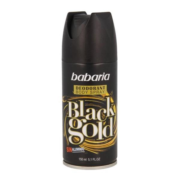 Babaria black gold desodorante +50 ml gratis 200ml