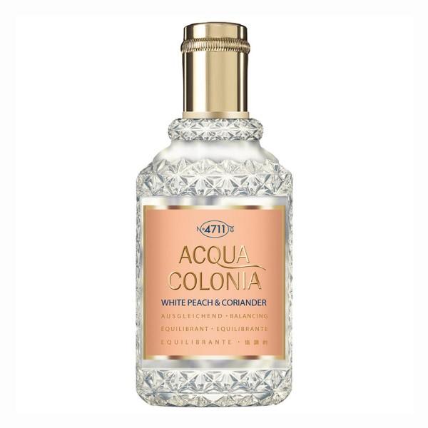 4711 acqua colonia eau de cologne white peach & coriander 50ml vaporizador