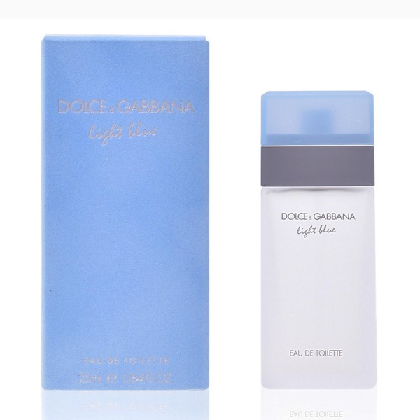 Dolce & gabbana light blue eau de toilette 25ml vaporizador
