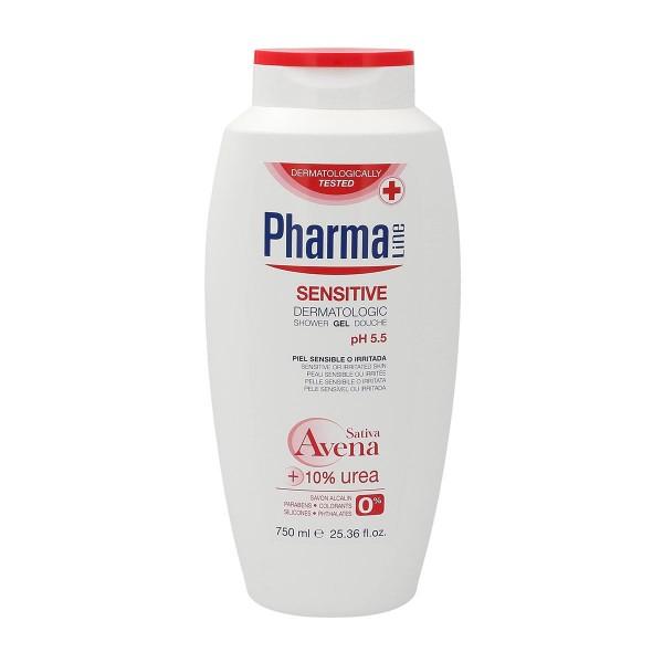 Pharmaline sensitive gel de ducha 750ml