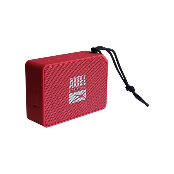 Altec lansing one rojo altavoz inalámbrico 5w bluetooth resistente al agua con micrófono incorporado