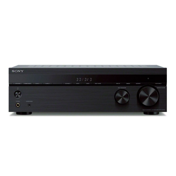 Sony str-dh590 receptor av de cine en casa 5.1ch 145w compatible uhd 4k hdr conectividad bluetooth audio hi-res