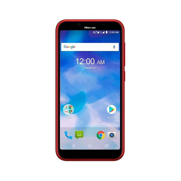 Hisense f17 pro rojo móvil 4g dual sim 5.45'' ips hd+/4core/16gb/2gb ram/13mp/5mp