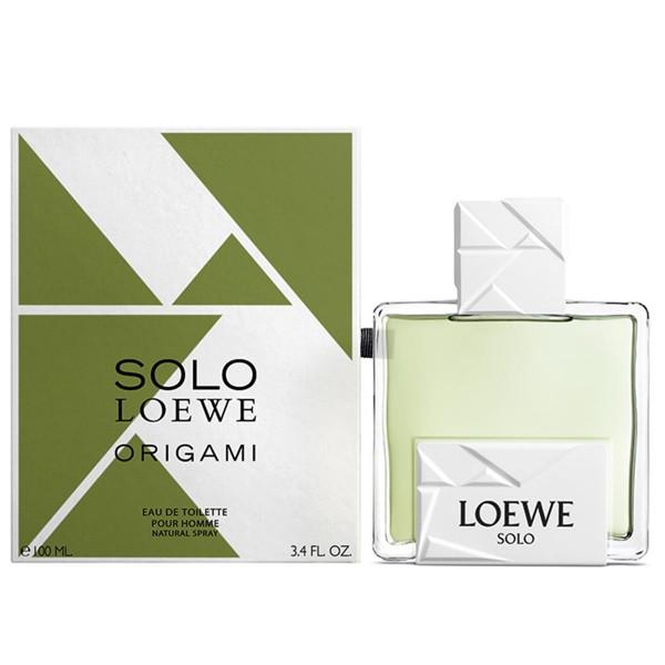 Loewe solo origami eau de toilette 100ml vaporizador