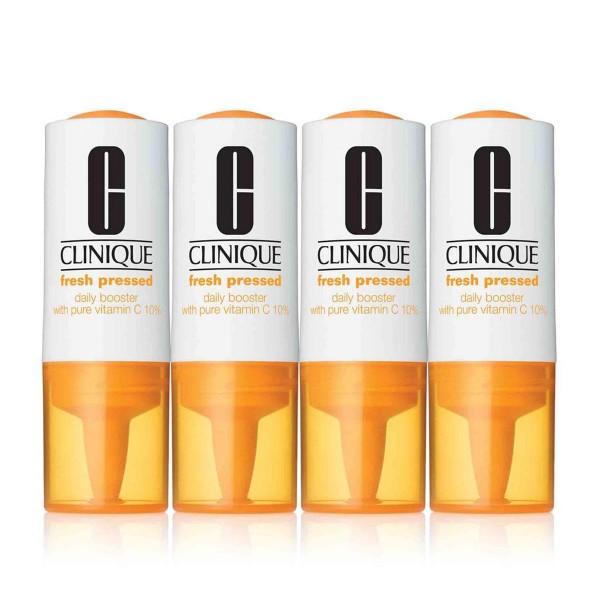 Clinique fresh pressed daily booster pure vitamin c treatment 4x8 5ml