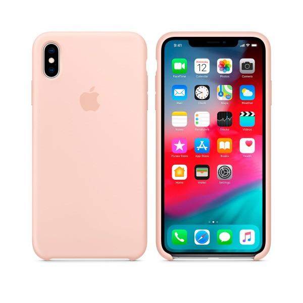 Apple mtfd2zm/a rosa arena carcasa de silicona apple iphone xs max