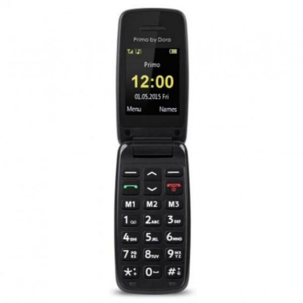 Doro primo 401 negro móvil senior 2'' bluetooth radio fm fácil uso