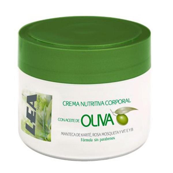 Lea crema nutritiva corporal con aceite oliva 200ml