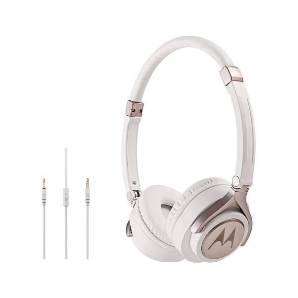 Motorola pulse 2 blanco auriculares de diadema estéreos con cable