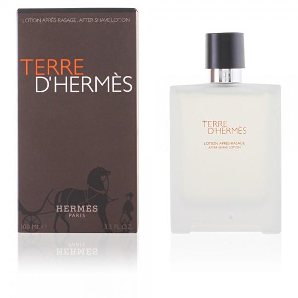 Hermes terre d'hermes after-shave lotion 100ml