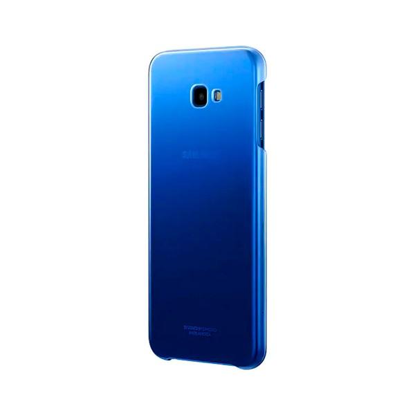 Samsung carcasa galaxy j4+ gradation cover azul