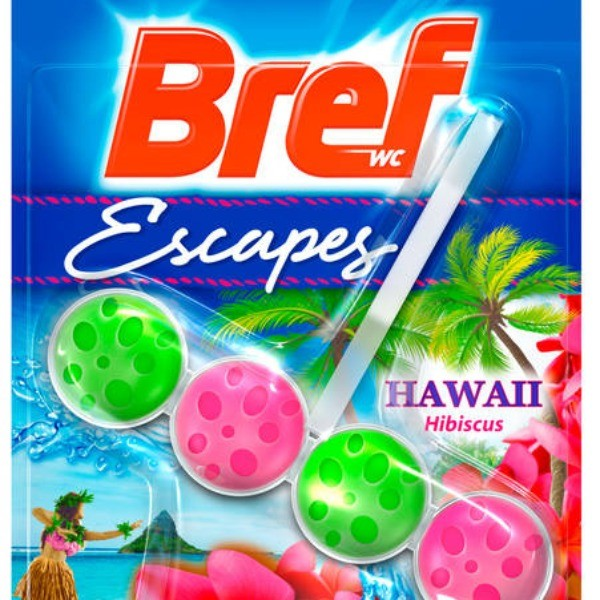 Bref Limpiador WC Escapes Hawaii Blister 1 u