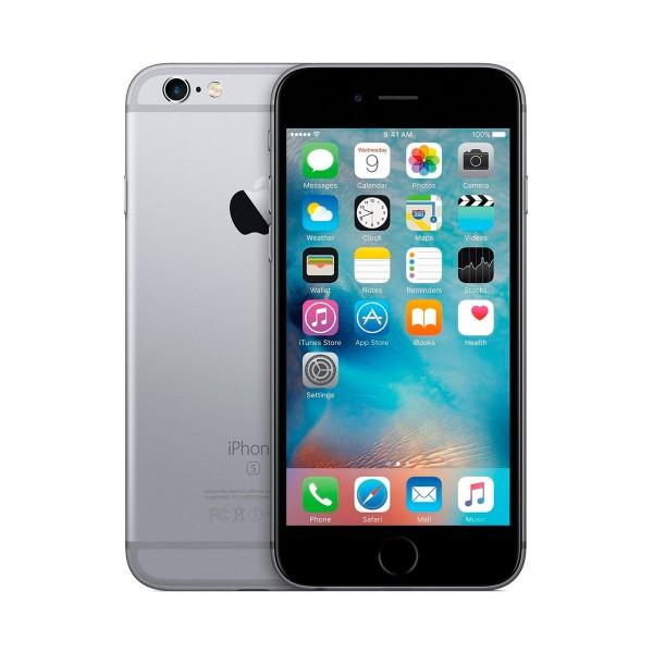 Apple iphone 6s 16gb gris espacial reacondicionado cpo móvil 4g 4.7'' retina hd/2core/16gb/2gb ram/12mp/5mp