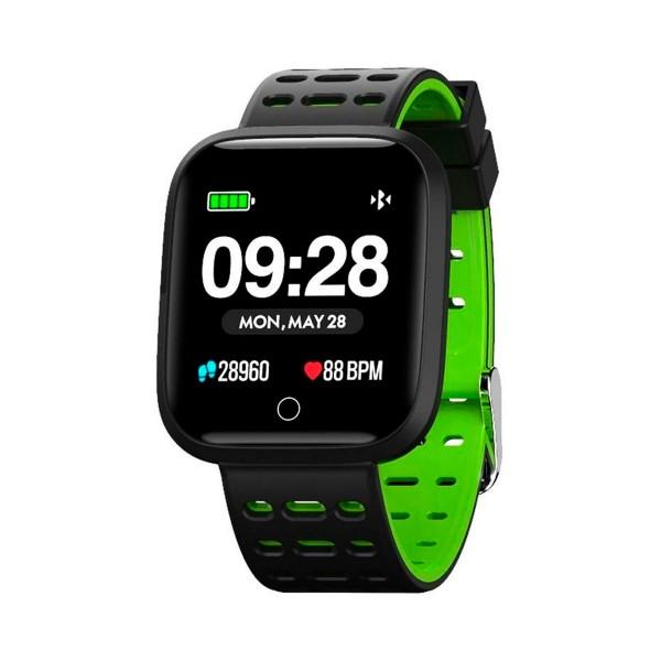 Innjoo verde sportwatch tft 1.33'' reloj inteligente deportivo bluetooth frecuencia cardíaca y presión sanguínea