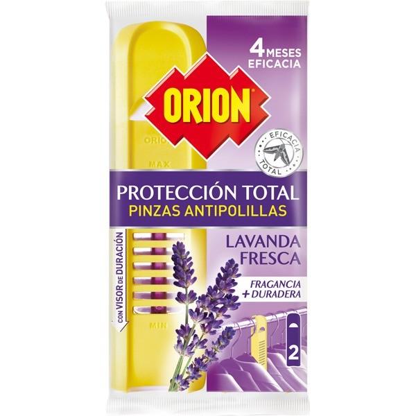 Orion pinza antipolillas duplo Lavanda Fresca