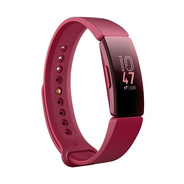 Fitbit inspire sangría pulsera de actividad con pantalla oled táctil y correa sangría