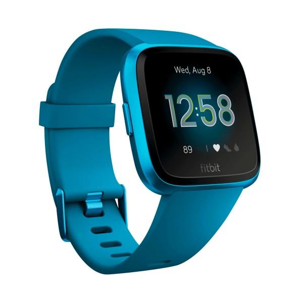 Fitbit versa lite azul marino smartwatch reloj deportivo con pantalla táctil y correa azul marino