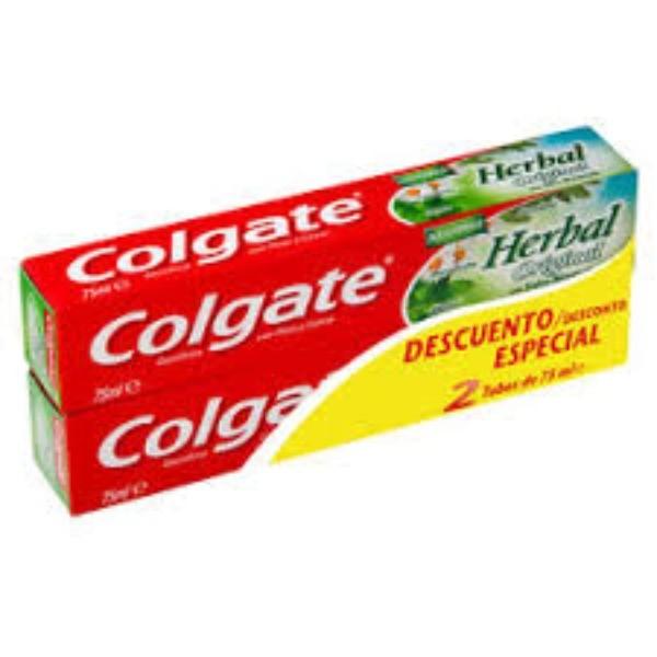 Colgate dentífrico  Herbal Original duplo 2 x 75 ml