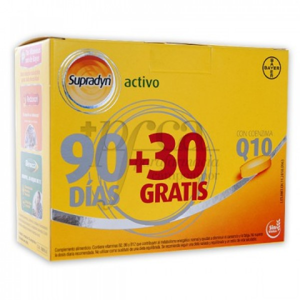 SUPRADYN ACTIVO 90+30 COMPS PROMO