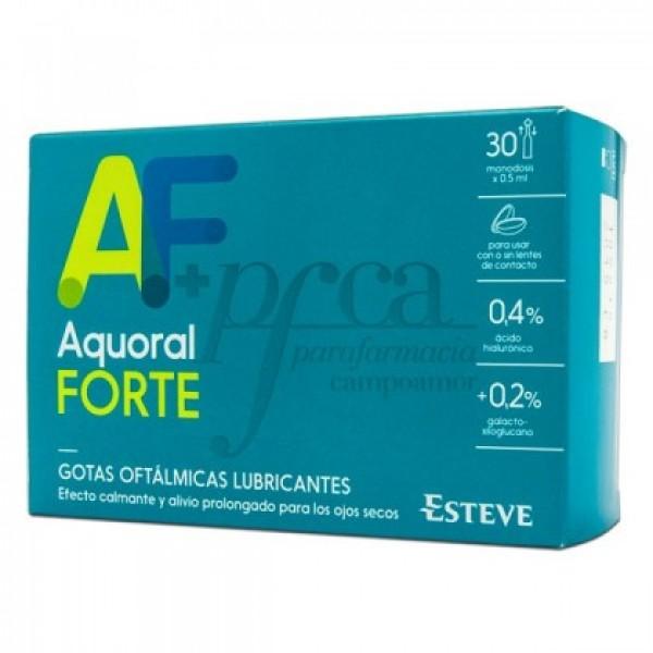 AQUORAL FORTE 30 MONODOSIS DE 0,5ML