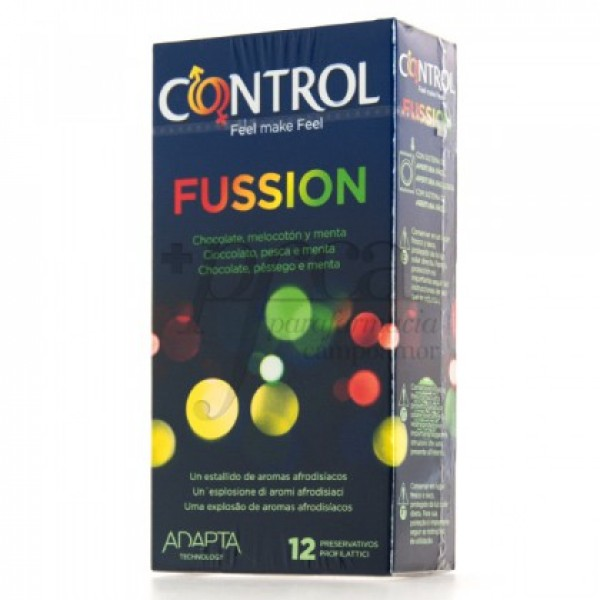 CONTROL FUSSION AROMAS 12 PRESERVATIVOS