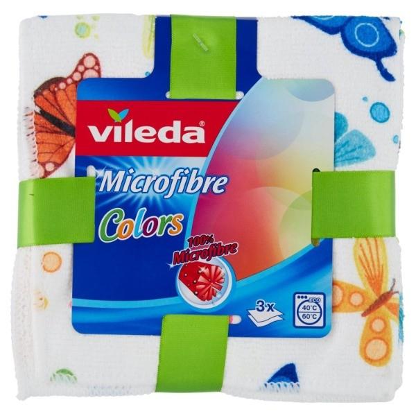 Vileda Bayeta Microfibra Color 3 ud.