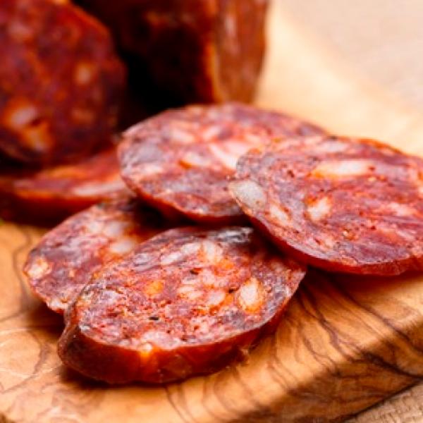 Chorizo Criollo de Ternera de Prod. Ecológica 400 grs.