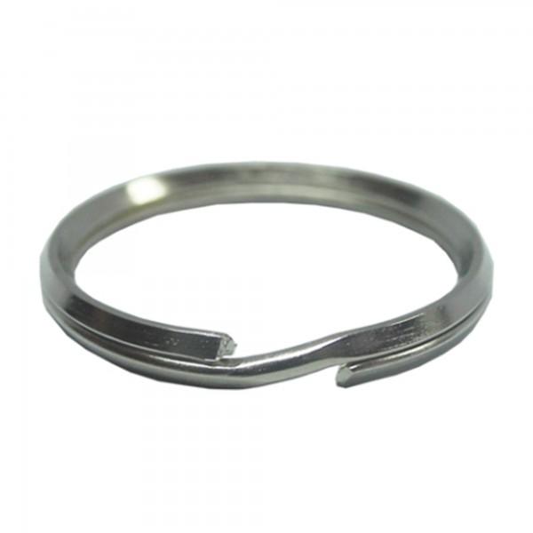 Llavero acero niquelado 20 mm. (100un)