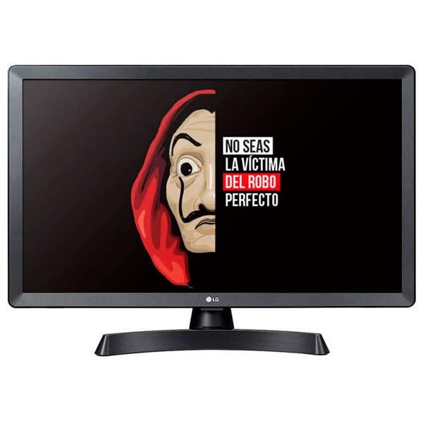 Lg 24tl510s-pz televisor monitor 24'' lcd led hd hdmi usb lan wifi compuesto componentes auriculares
