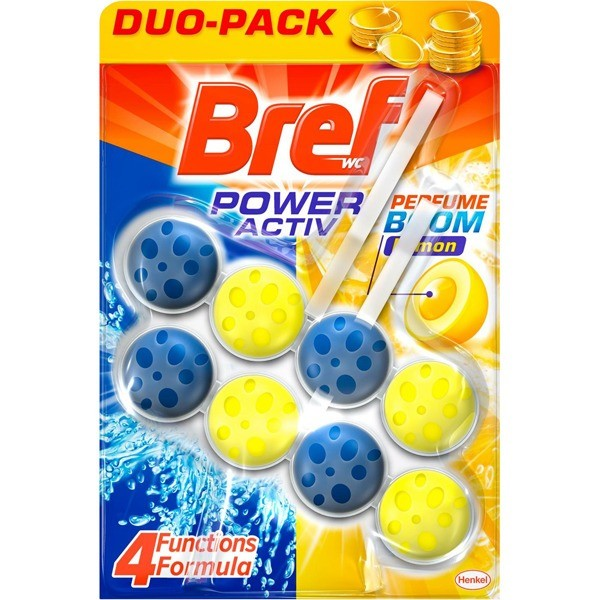Bref Wc Power Active Limón 2 uds
