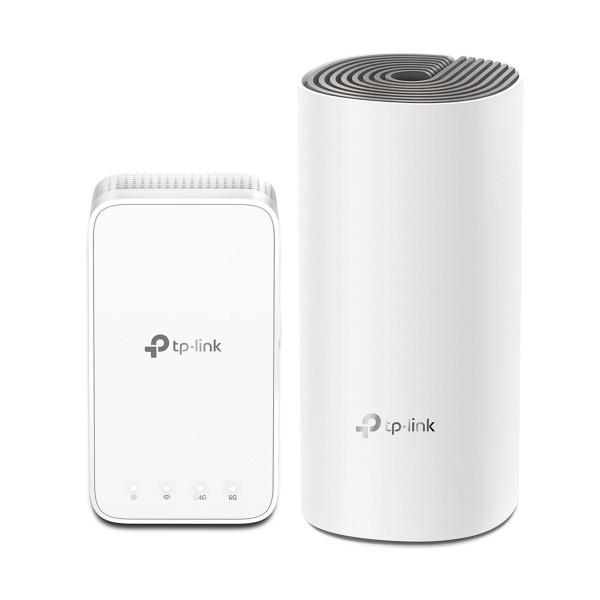 Tp-link deco e3 (2-pack) sistema wi-fi mesh para toda la casa ac1200