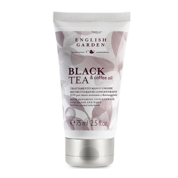 English garden black tea & coffee oil for hands and nails atkinsonss 75ml