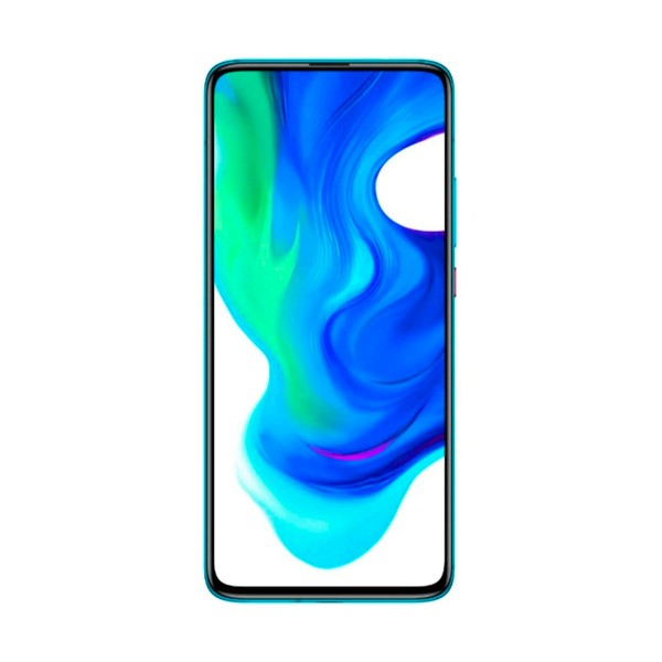 Xiaomi poco f2 neon blue móvil 5g dual sim 6.67'' amoled fhd+ octacore 128gb 6gb ram 64mp selfie popup 20mp