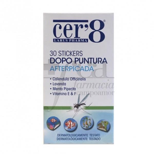 CER8 PARCHE AFTERPICADA 30 UDS