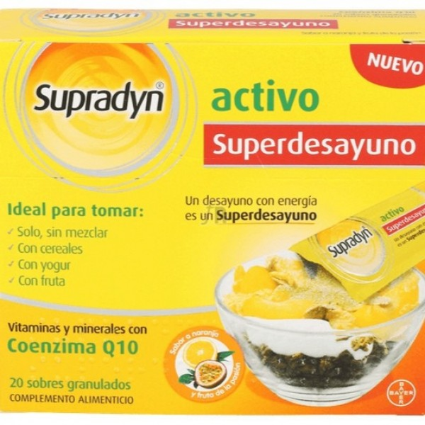 SUPRADYN ACTIVO SUPRADESYUNO GRANULADO 20 SOBRES