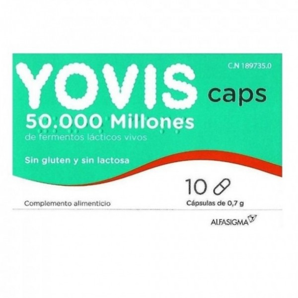 YOVIS 10 CAPSULAS
