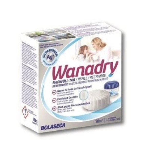 Wanadry recambio deshumidificador 450 gr