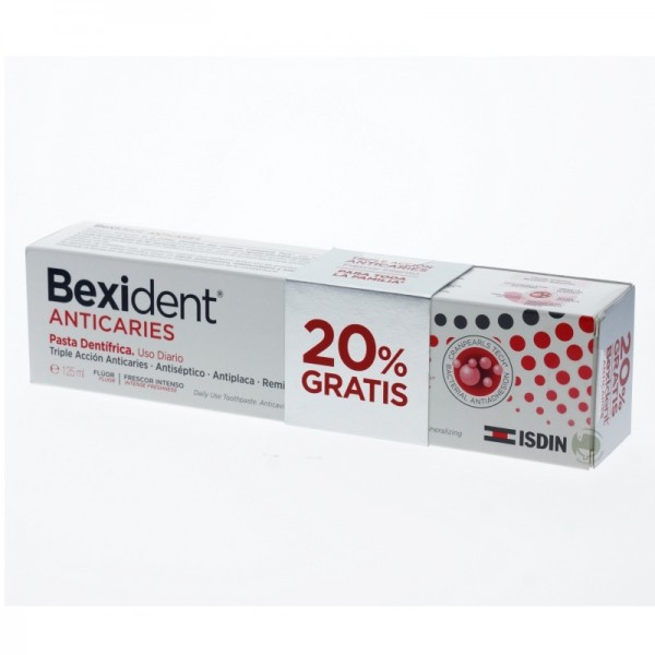 BEXIDENT ANTICARIES DENTÍFRICO 125ML PROMO