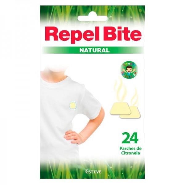REPEL BITE NATURAL 24 PARCHES CON CITRONELLA