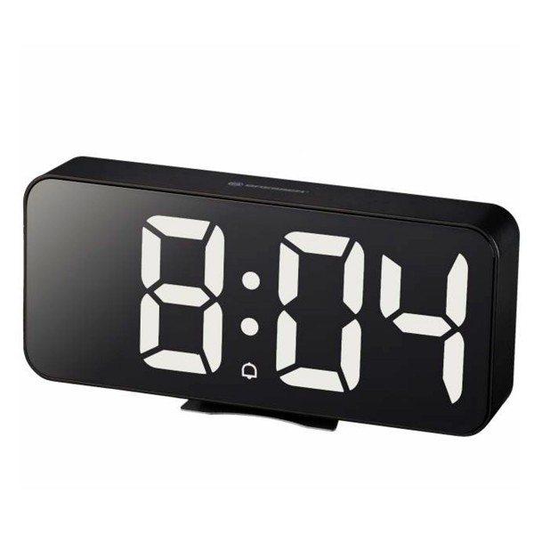 Bresser mytime echo fxl negro / reloj despertador / termómetro