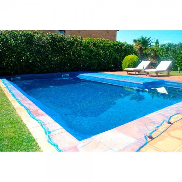 Malla para piscina 4x4m leaf pool cover