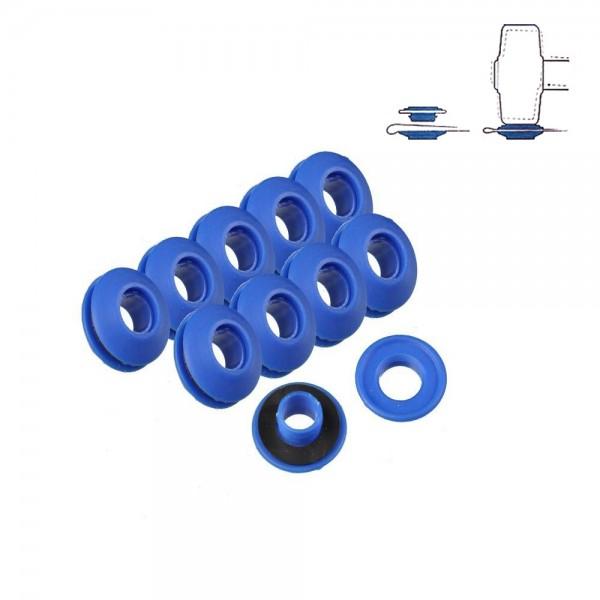 Set 10 anillas plastico para toldos y lonas